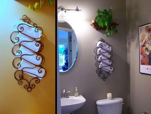 Le porte serviette de salle de bain Searching - porte serviette salle de bain design