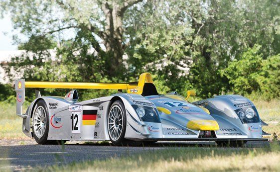 EUR Motor Cars : 2001 Audi R8 Le Mans Prototype Racing Car | Blouin Boutique | RM Auctions | Monterey August 17-18