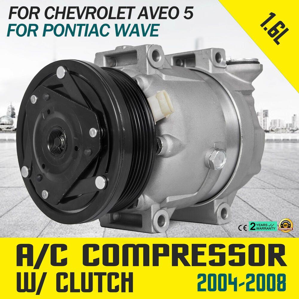 Sponsored Ebay Hq Ac A C Compressor Fits 2004 2008 Chevrolet