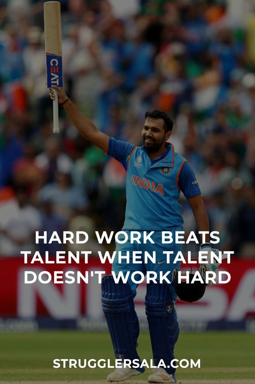 Hard Work Beats Talent When… Hard work beats talent