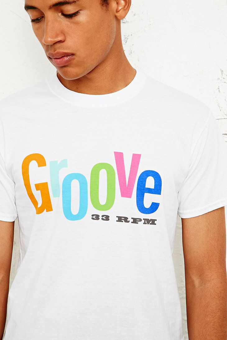 Groove Records Tee in White