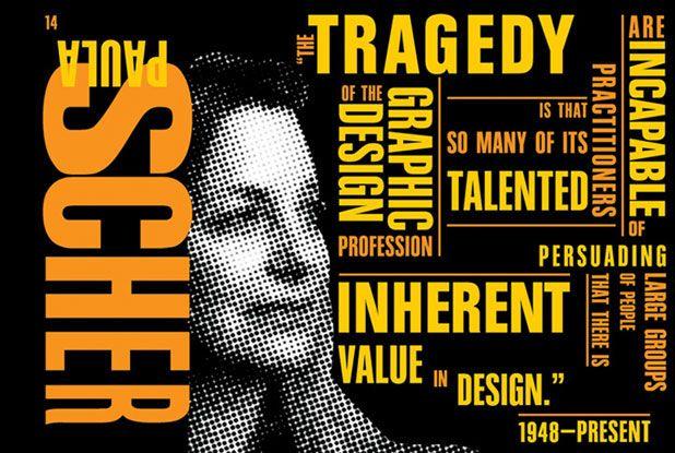 Paula Scher Typography