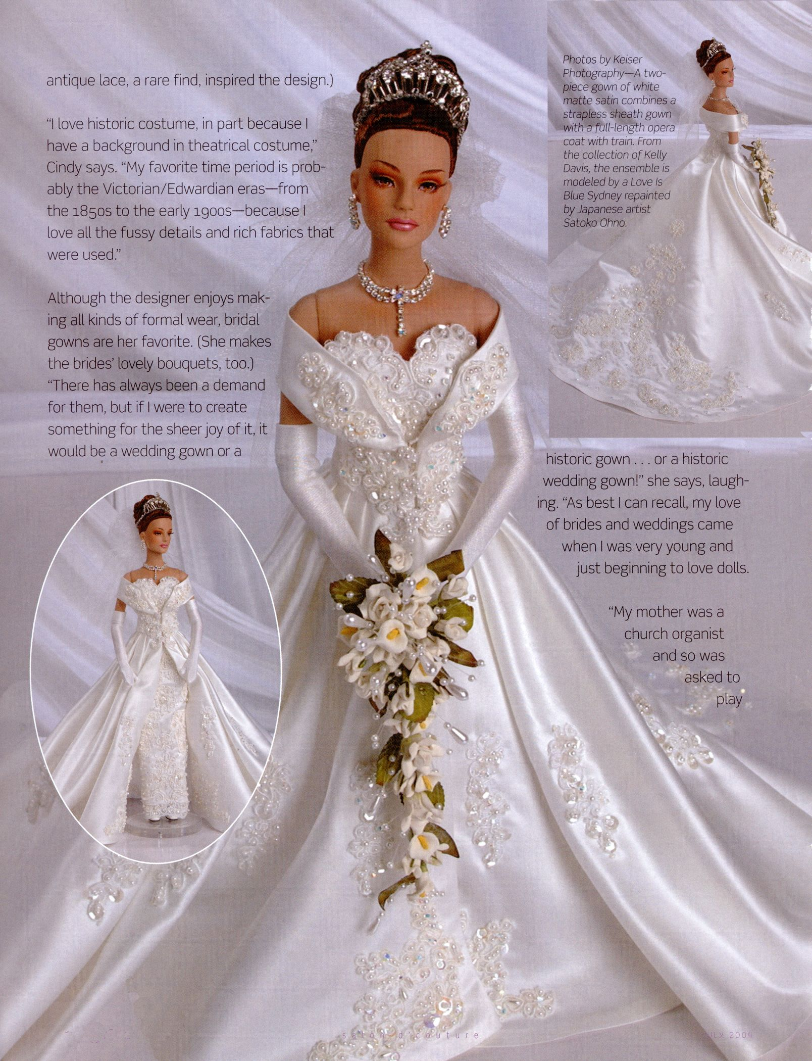 Gown By Cindy Friesen Of Red Silk Thread Love The Bouquet Too