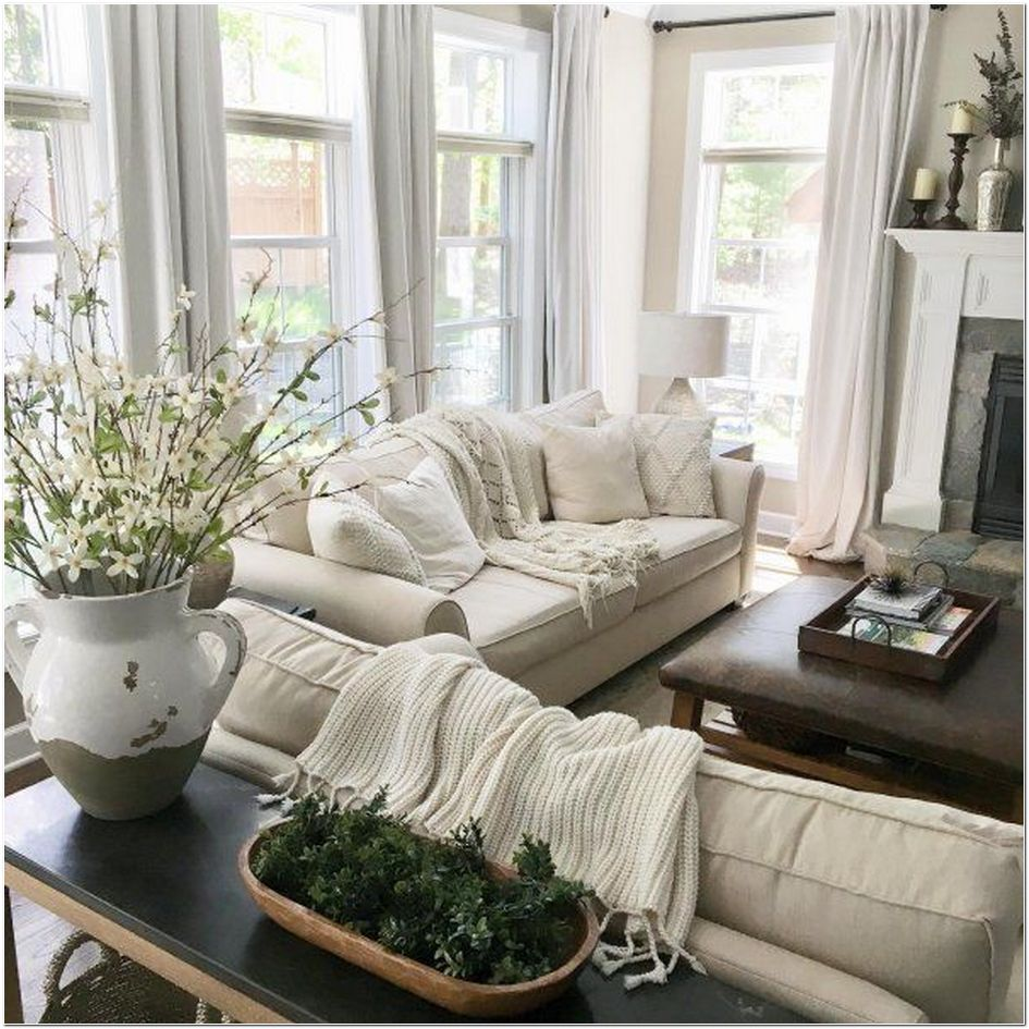 68 farmhouse living room designs with sectional sofas and