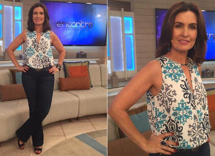 Veja detalhes do look de Fátima Bernardes (Foto  Viviane Figueiredo  Neto Gshow) 183b4f342fe