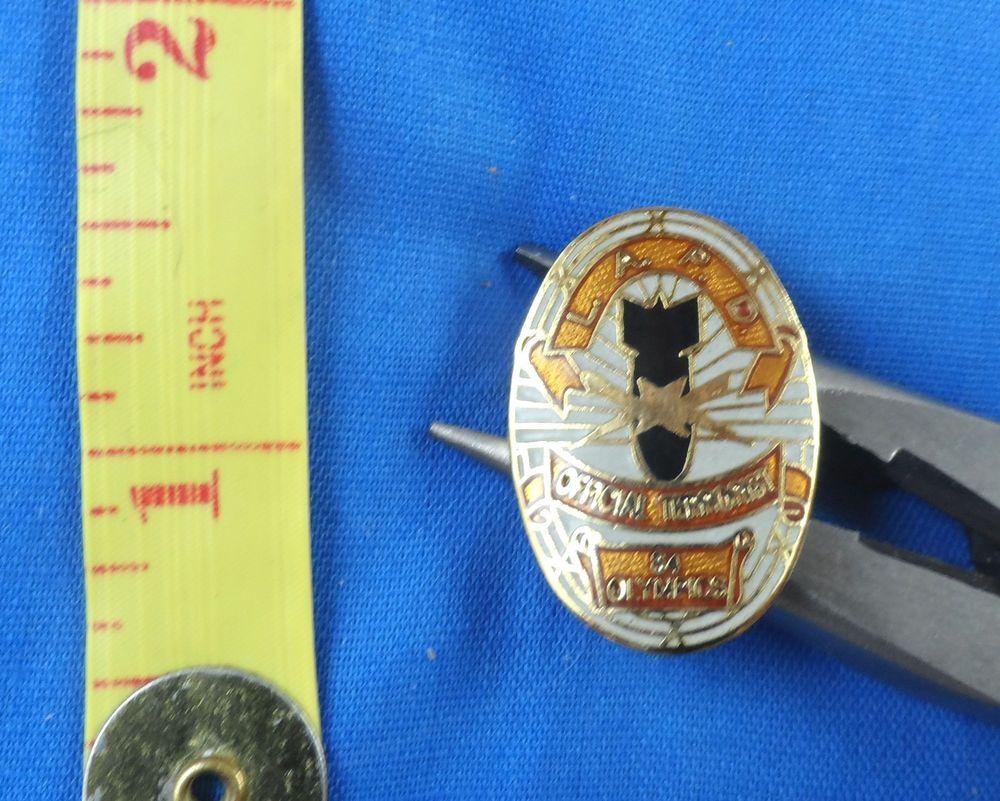 Lapd Los Angeles Police Dept 84 Olympics Mini Badge Lapel Pin Free Us Shipping Bottle Opener Wall Ebay Lapel Pins