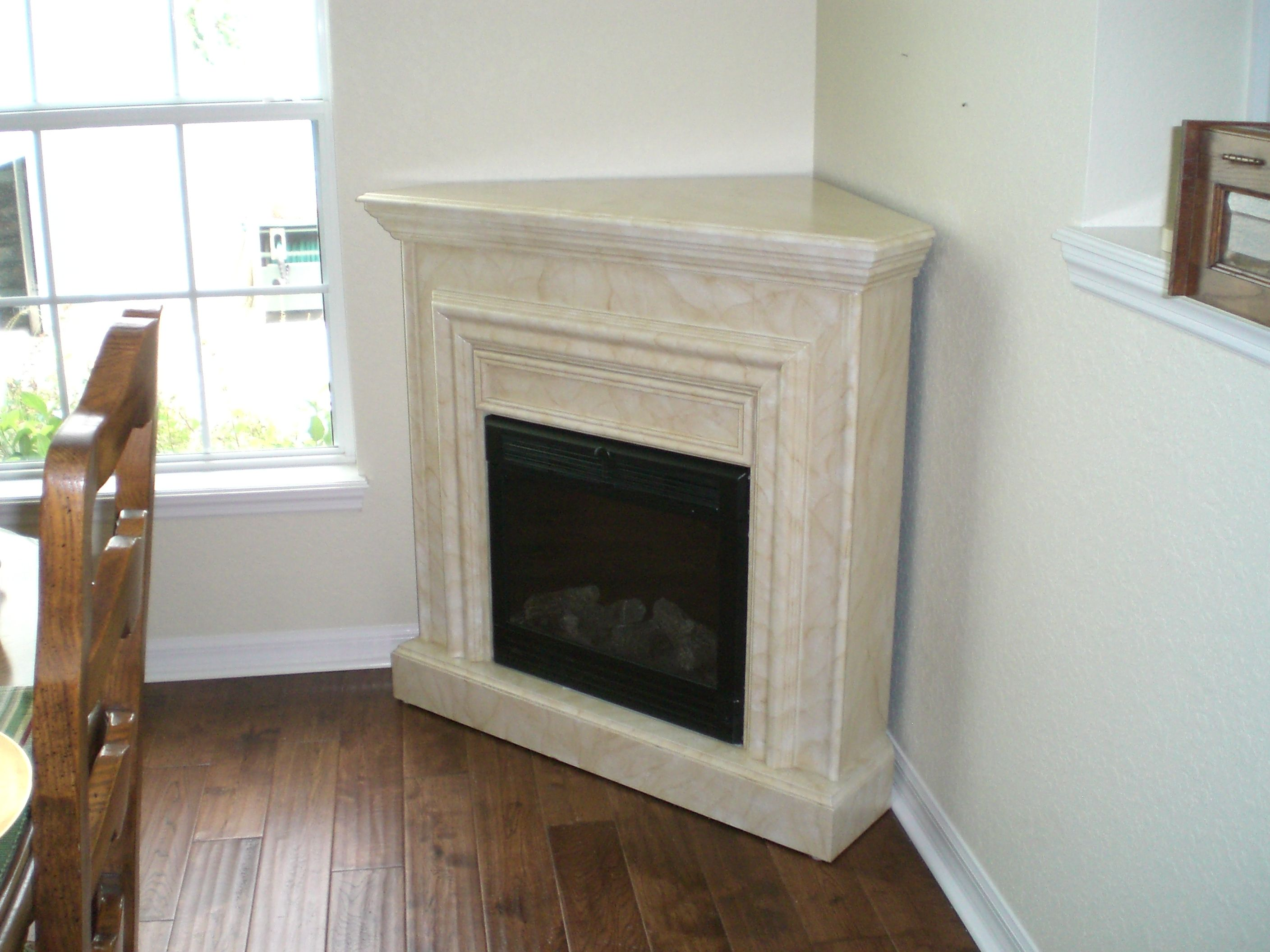 Corner Fireplace Designs Contemporary Corner Electric Faux