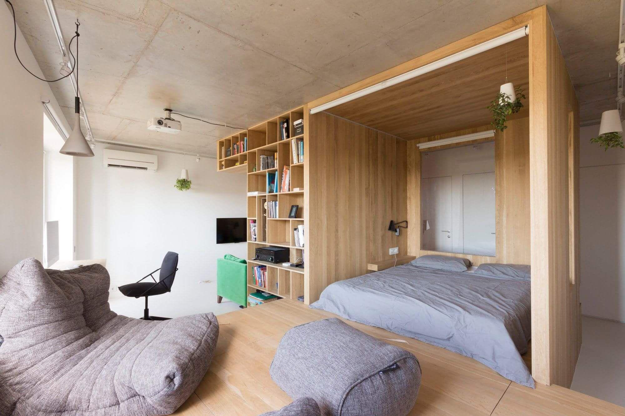 60 Koleksi Ide Design Untuk Apartemen Studio Terbaik Untuk Di Contoh