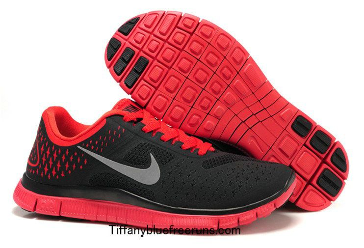 save off 25d5f 3d725 Cool Grey Platinum University Red Silver Nike Free 4.0 V2 ...