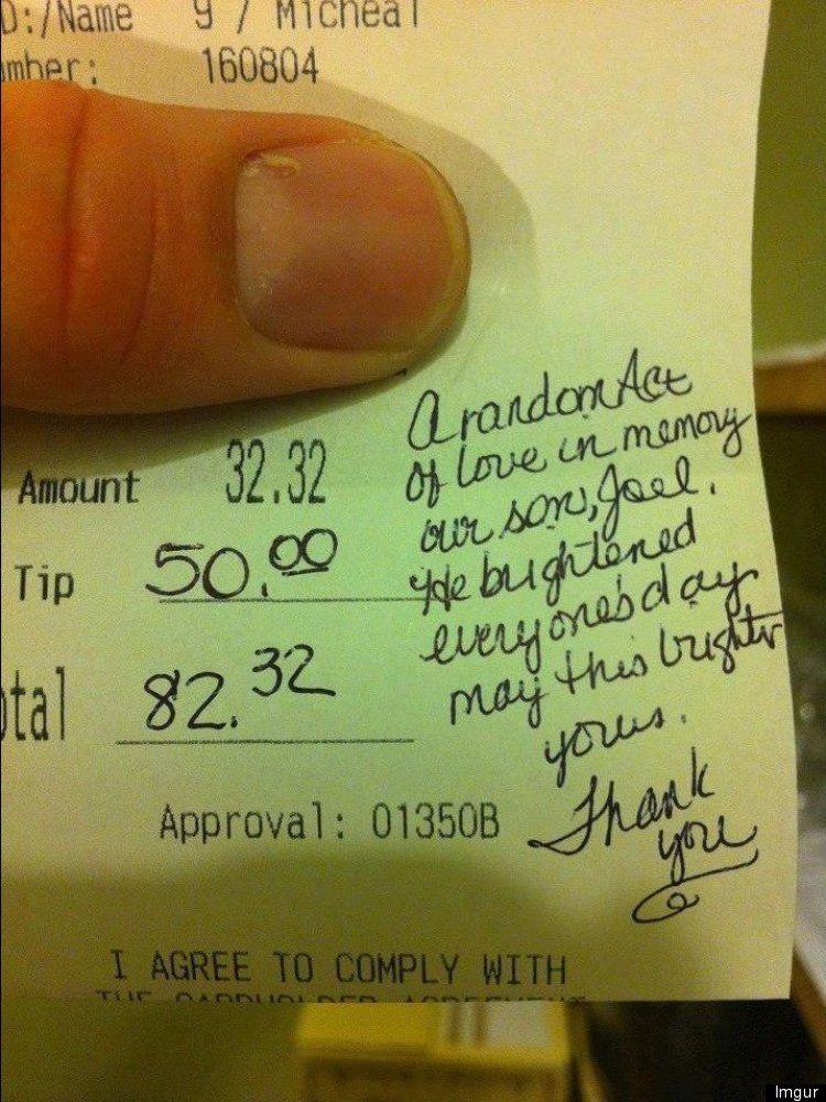 Image result for leave a big tip