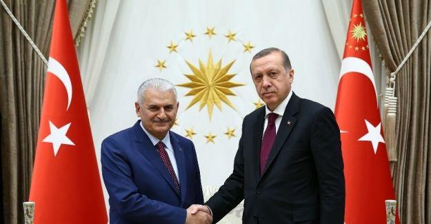 Cumhurbaşkanı Erdoğan Başbakan Yıldırım görüşmesi sona erdi