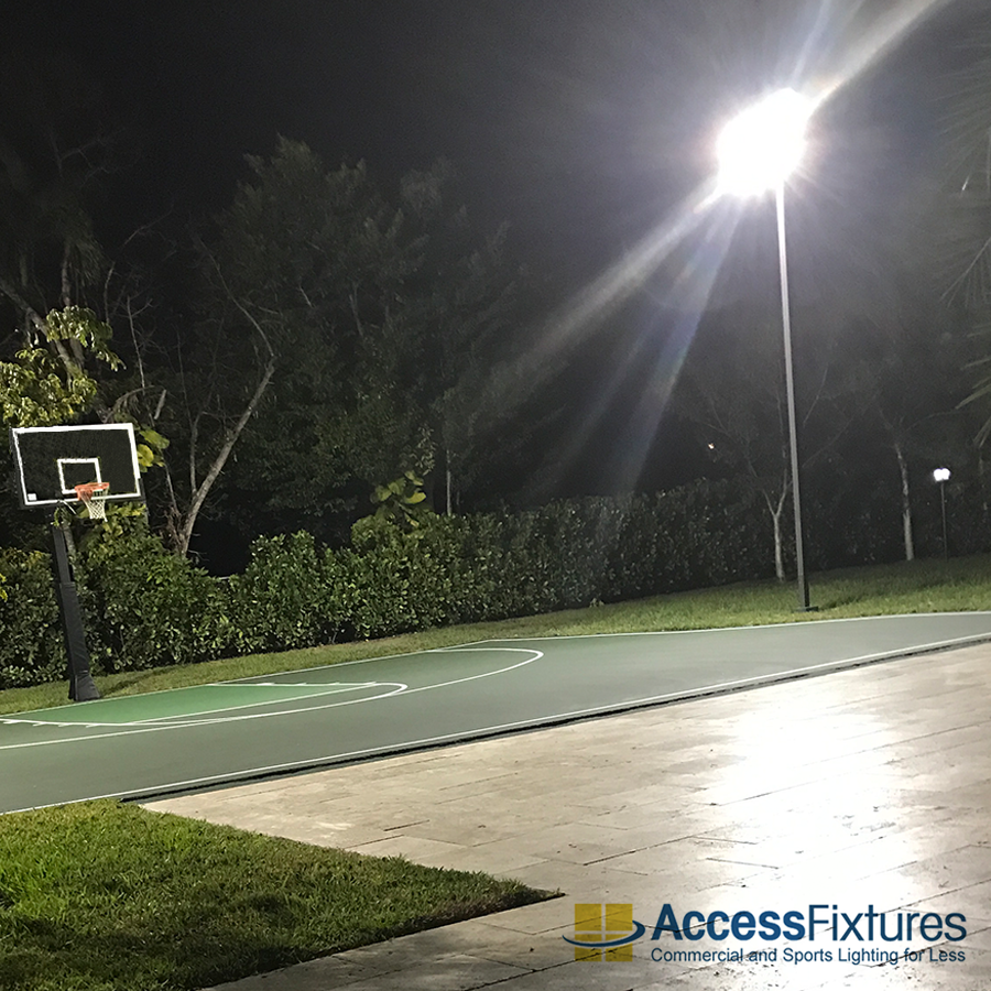 Basketball Court Lighting Shop Basketball Court Lights Access Fixtures Outdoor Sports Court Outdoor Basketball Court Flood Lights