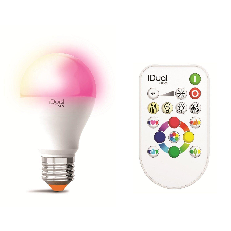 Ampoule Intelligente Led Depoli Standard E27 806 Lm Couleur Changeante Lexman Led Depoli Et Ampoule