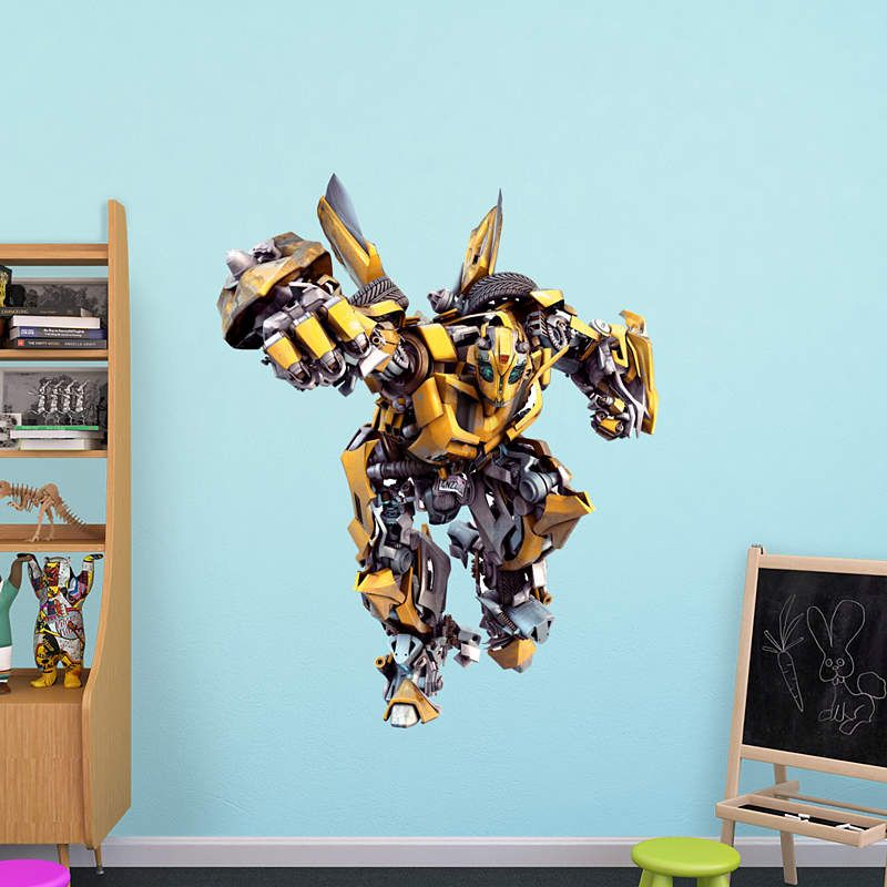 Bumblebee Fathead Wall Decal Transformers Decorations Wall Decals Entertainment Wall