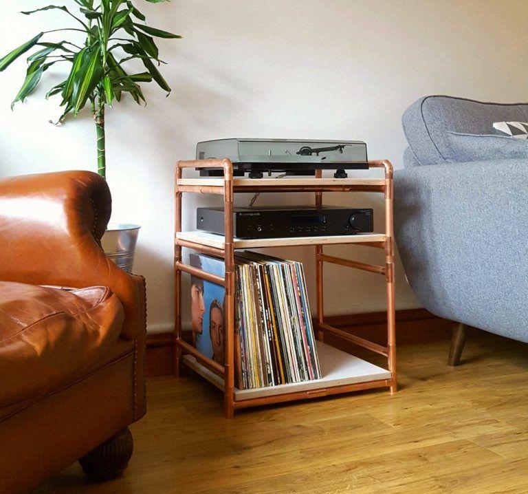 44 Meubles Pour Ranger Des Vinyles En 2020 Meuble Pour Platine Vinyle Mobilier De Salon Meuble Vinyle
