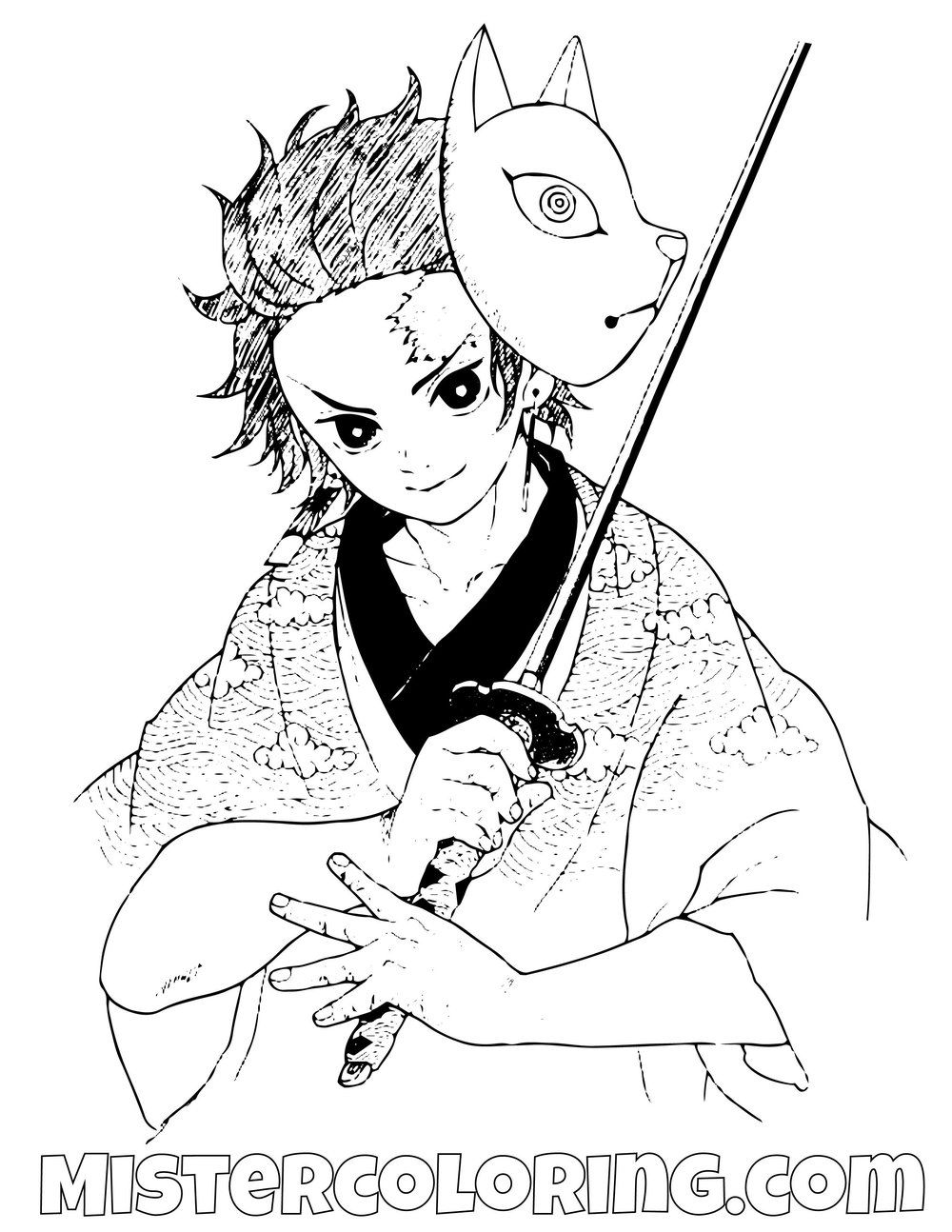 27+ Demon slayer coloring pages inosuke info