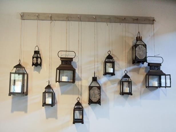 Another Shot Of The Lantern Wall Idea From HGTV Design Star. Still  Collecting Lanterns!