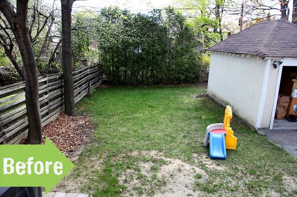 before after shannons charming backyard retreat - Backyard Garden Ideas Before And After