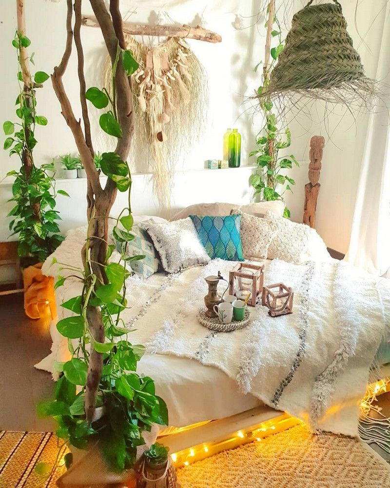 Bohemian Bedroom Decor And Bed Design Ideas   Bohemian bedroom ...