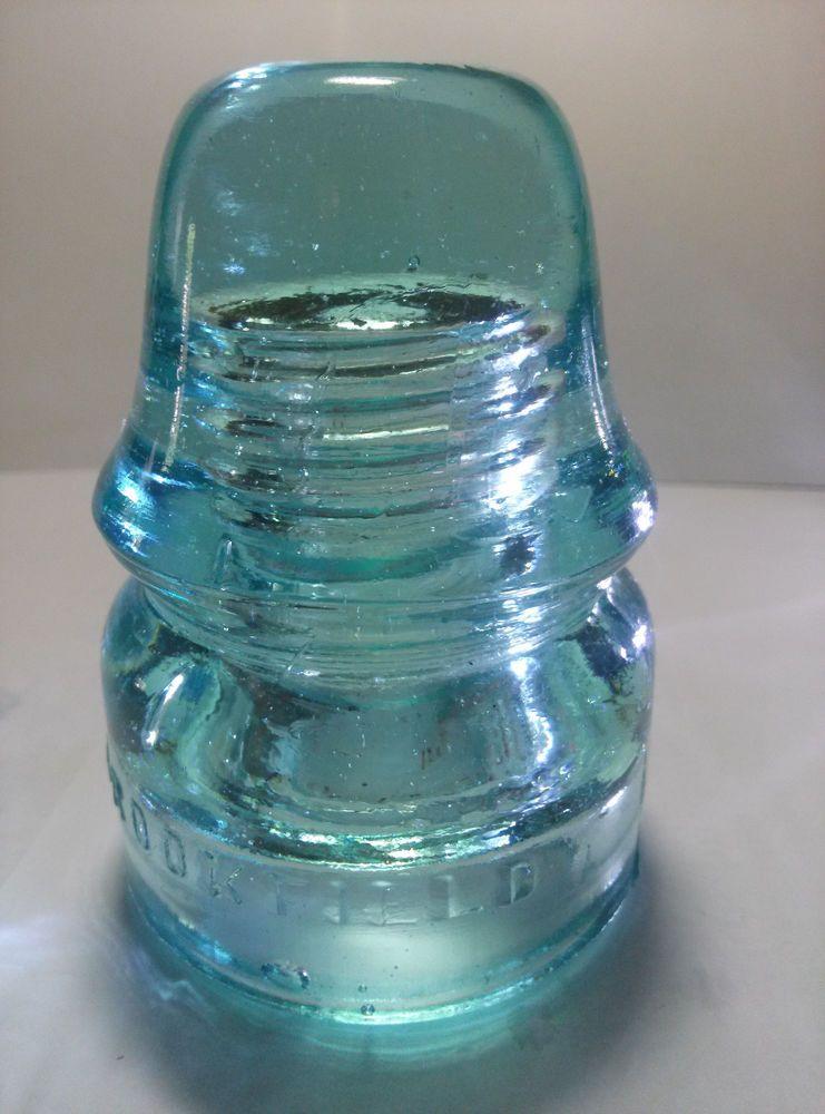 Antique Glass Insulator Insulators Glass Insulators
