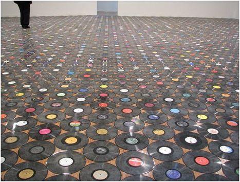 """Un parterre de vinyle ..   """"Le disque vinyle un objet emblématique""""  """