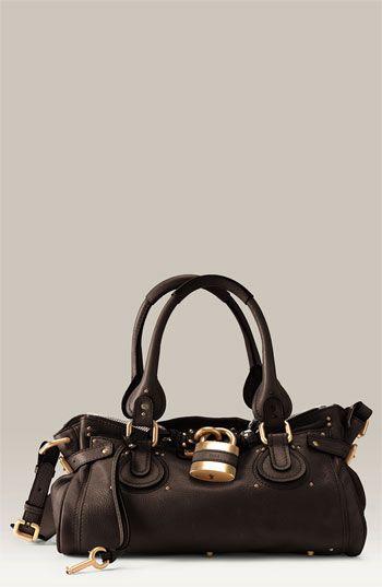 29b7dcb7b30b chloe paddington leather padlock satchel  1585.00   threads   Chloe ...