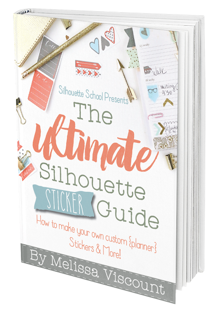 The ultimate silhouette guide to sticker is basically a print and cut bible and planner sticker guide all rolled into one
