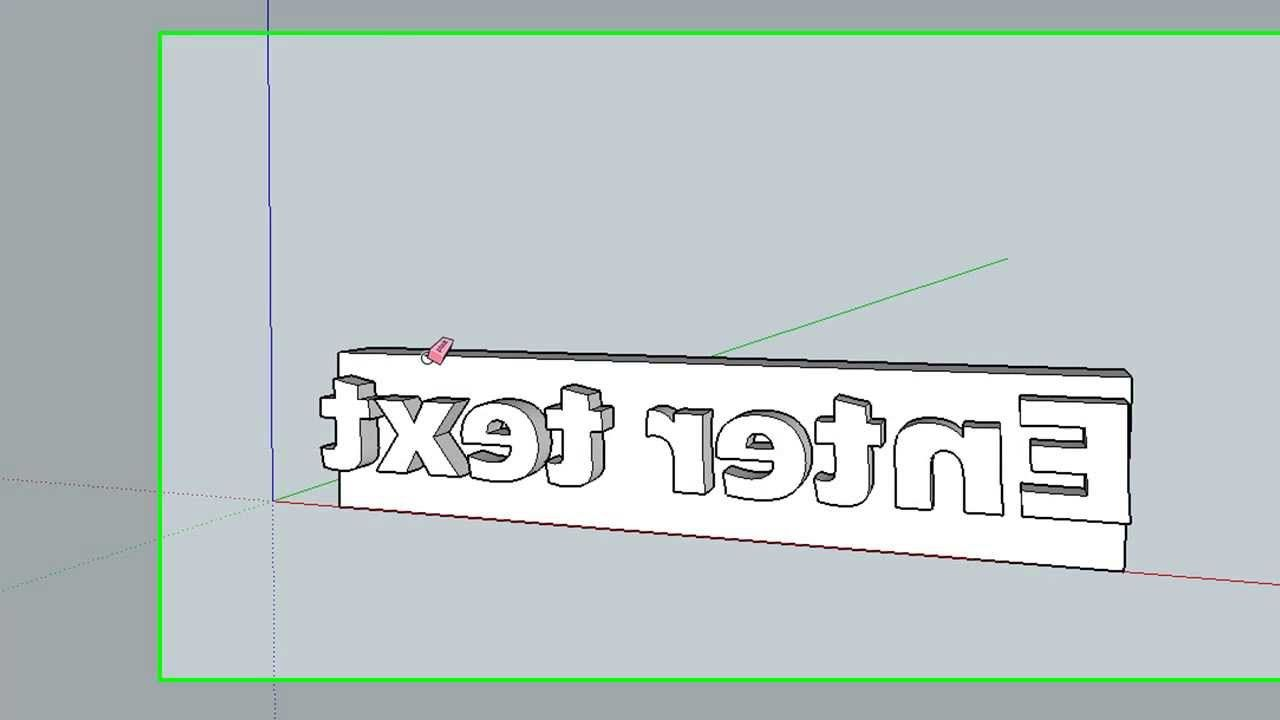 Placing 3d Text On A Curved Surface Method 2 Surface 3d Text