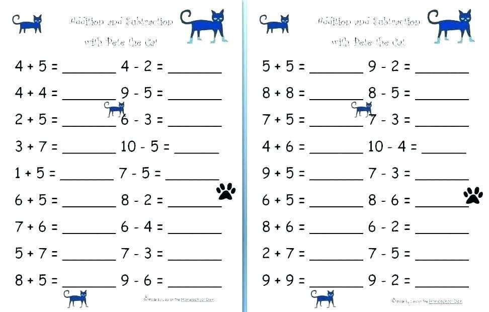 8 Printable Math Sheets Grade 1 Matematika