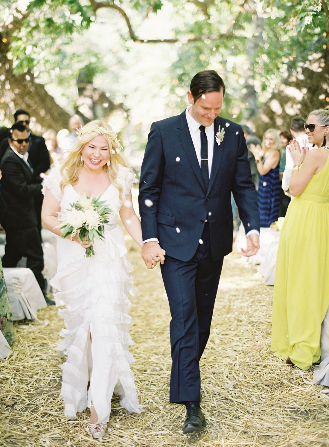 the trusty old toss gets a modern makeover with popcorn #popcorn, #toss  Photography: Jose Villa Photography - josevillaphoto.com  Read More: http://www.stylemepretty.com/2014/01/15/rustic-elegance-at-dos-pueblos-ranch/