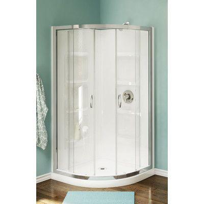 A E Bath And Shower Nevada Neo Round Corner Shower Set Corner Shower Corner Shower Stalls Shower Stall