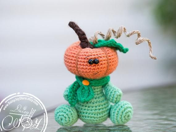 LIMITED EDITION Crochet Pumpkin Toy, Fall House Decor, Best of Fall, Thanksgiving Decorations, Autum