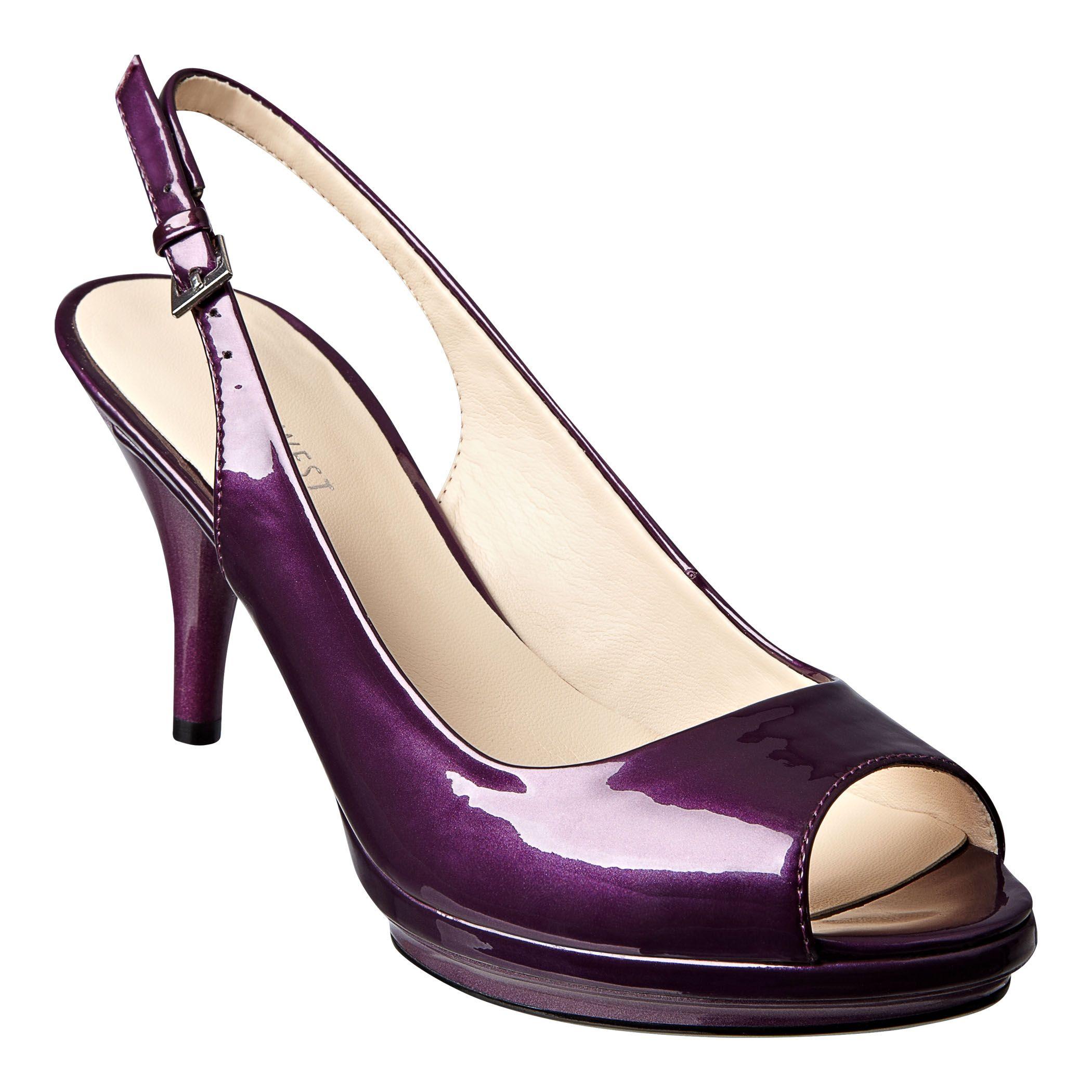 c4db54805ed Nine West  Shoes   All Pumps   Sharina - mid-heel peep toe slingback ...