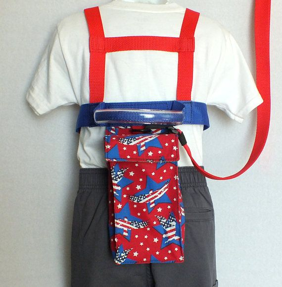 Child Safety Harness and TetherPatriotic Americana