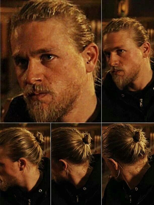 Shout Out To Charlie Hunnam For Displaying The Ultimate Man Bun