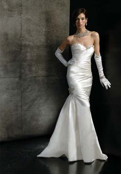 Old Hollywood Wedding Dress Gown Style Glamour A Jubilee Event
