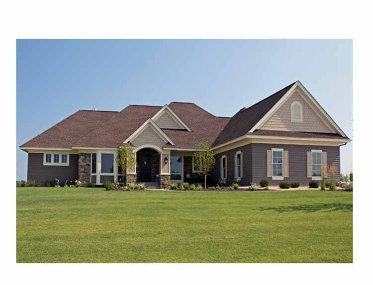 Eplans Ranch House Plan Five Bedroom Ranch Home 5035 Square Feet And 5 Bedrooms S From Eplans House Plan Code Hwepl69394 For The Home House Plans B