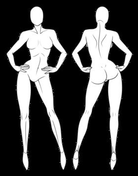Pin By Sanaz Fekri On 0fashion Illustration In 2020 Fashion Figure Drawing Fashion Design Drawings Fashion Illustration Poses
