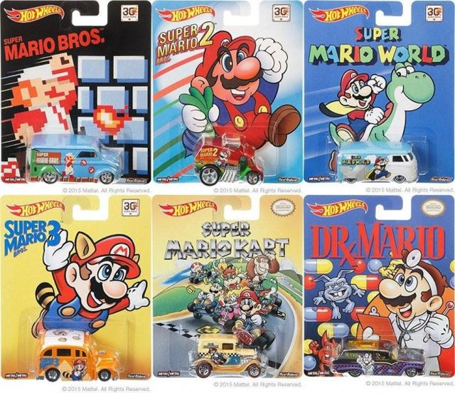 Nerdgasmo: Mattel prepara Hot Wheels de Super Mario Bros.   Hot wheels. Coches hot wheels y Carritos hot wheels