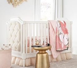Monique Lhuillier Sateen Ethereal Butterfly Baby Bedding