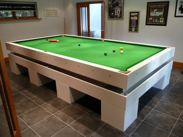 Pin By Paul Ranson On Pool Snooker Pinterest - How big is a pool table