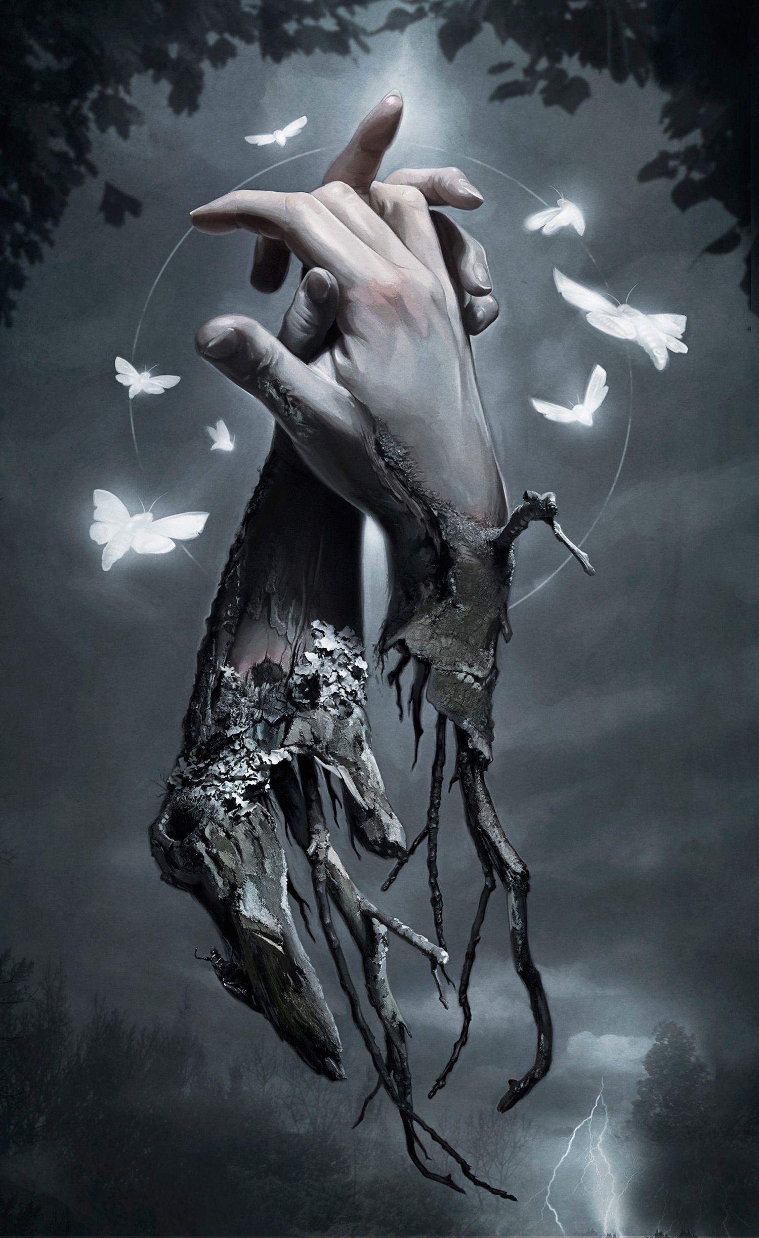 Macabre, Supernatural Digital Paintings by David Seidman