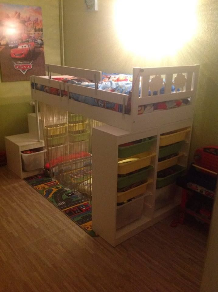 Lit kritter customis pour enfant lit mezzanine enfant lit enfant ikea et chambre enfant - Ikea meuble bebe ...