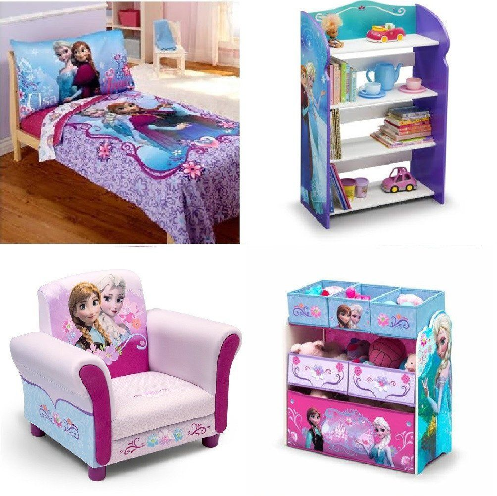 Disney, Nickelodeon or Marvel Kids,Toddler Bedroom Furniture 4 Piece ...