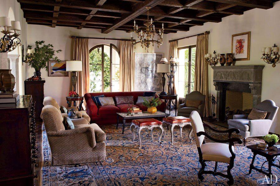 Look Inside a MediterraneanStyle Residence in Los Angeles