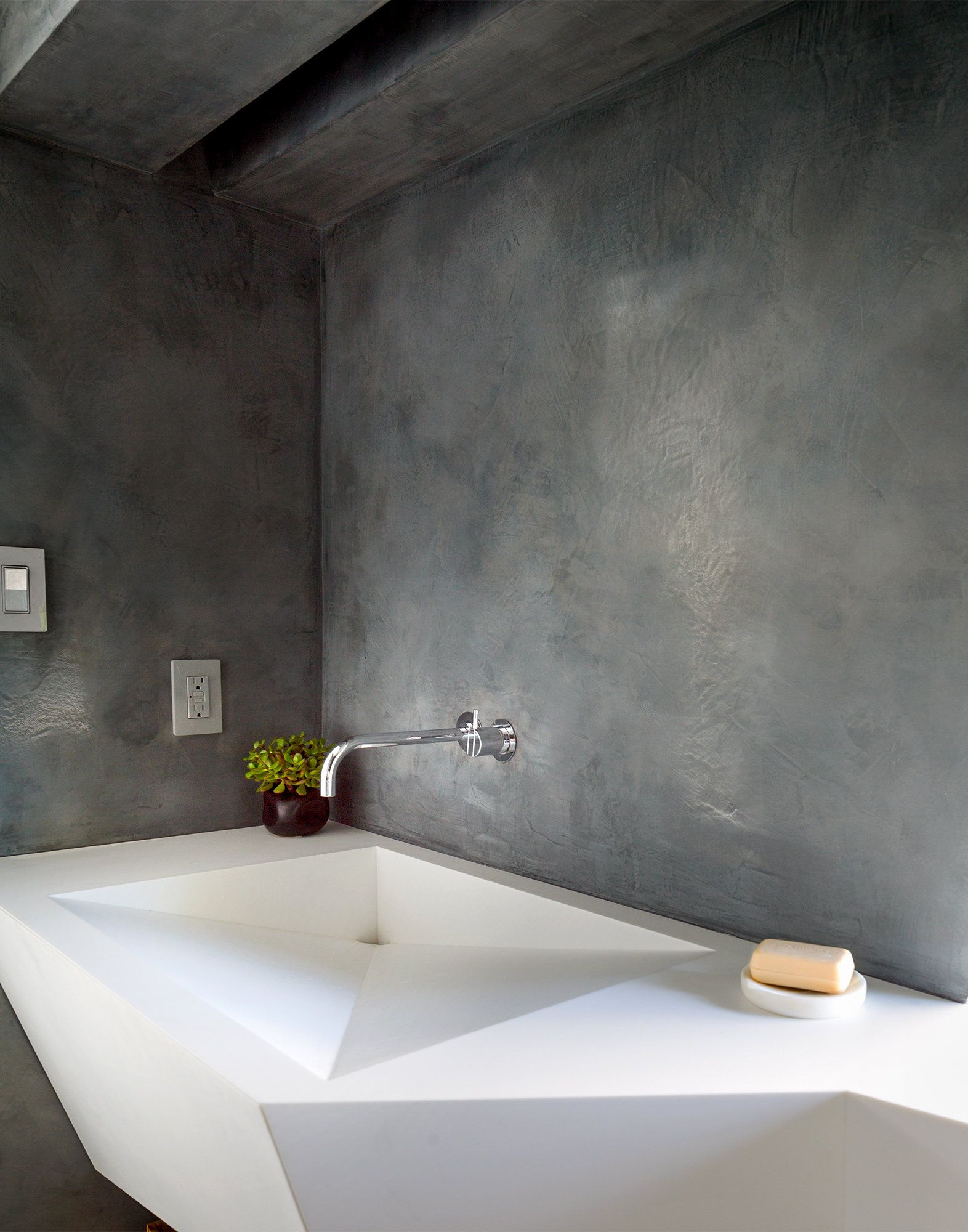 Pick a View, Any View Polished plaster, plaster
