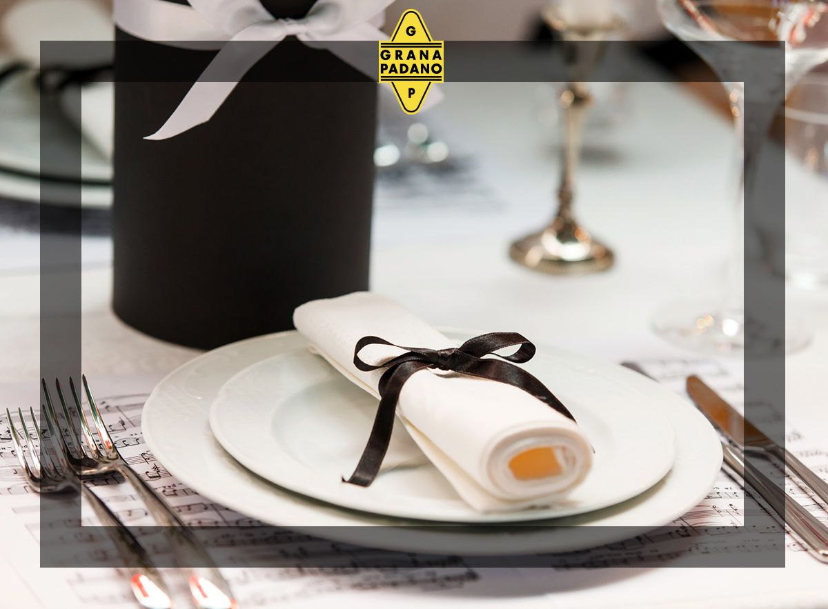 Bianco e nero portano l'eleganza anche a tavola!