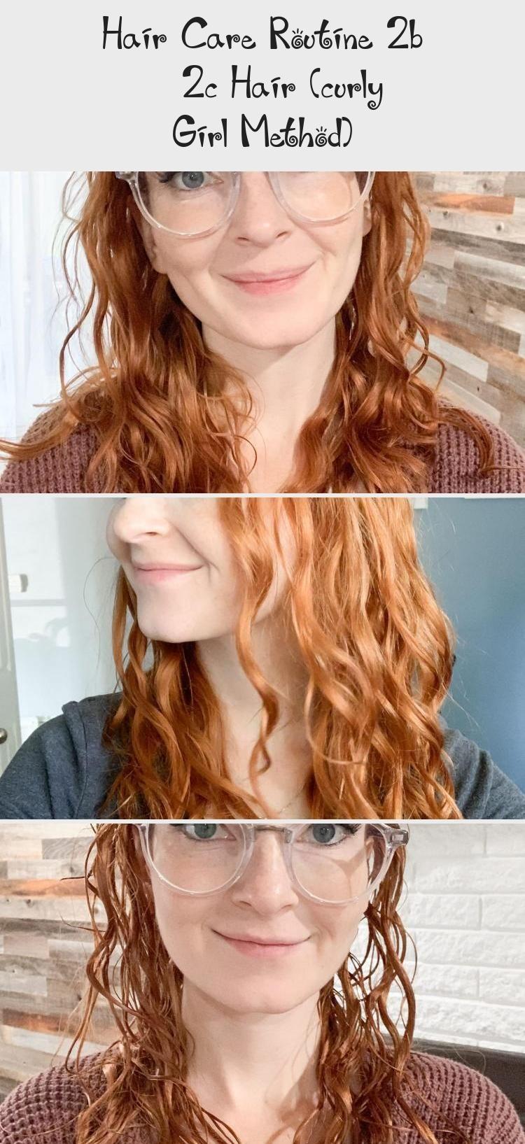 Hair Care Routine 2b 2c Hair (curly Girl Method in 2020