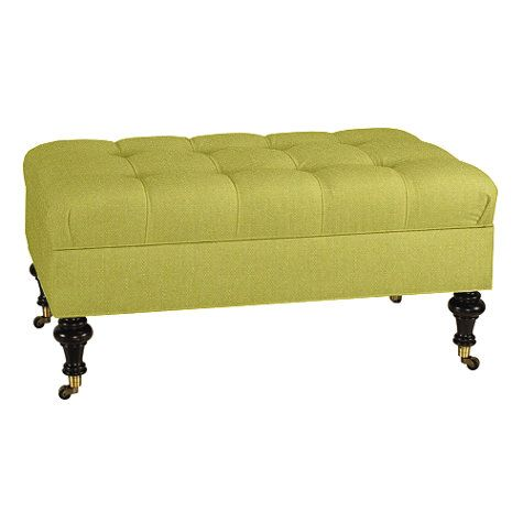 Pleasant 42 X 24 Castered Tufted Storage Ottoman Atl Living Room Alphanode Cool Chair Designs And Ideas Alphanodeonline