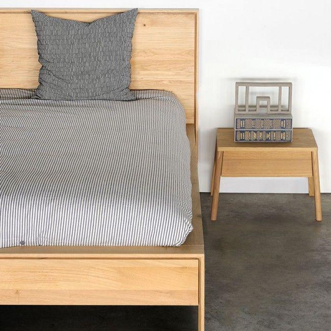 Ethnicraft Oak Nordic II Queen Bed 1840x2190x950 2500 | Furniture ...